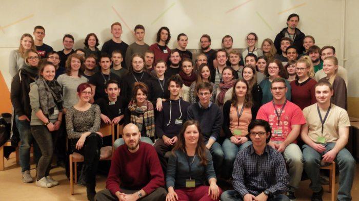 Die Teilnehmer*innen des ersten KlaVoWos im Januar 2016.